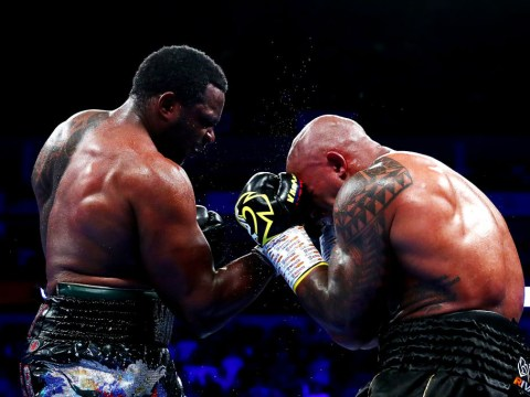 Dillian Whyte powers his way to bruising 12-round win over Oscar Rivas