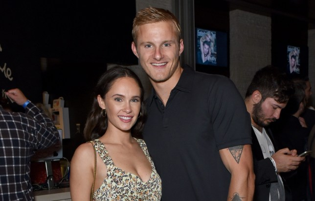 Alexander Ludwig and Kristy Dawn Dinsmore