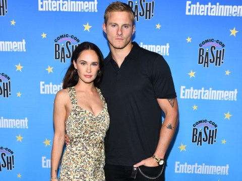 Vikings' Alexander Ludwig thanks co-star girlfriend Kristy Dawn Dinsmore for sticking by him 'through it all'