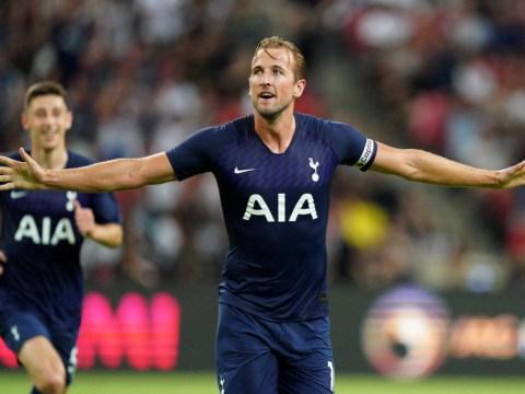 Juventus keeper Wojciech Szczesny finds excuse for conceding Harry Kane halfway line goal