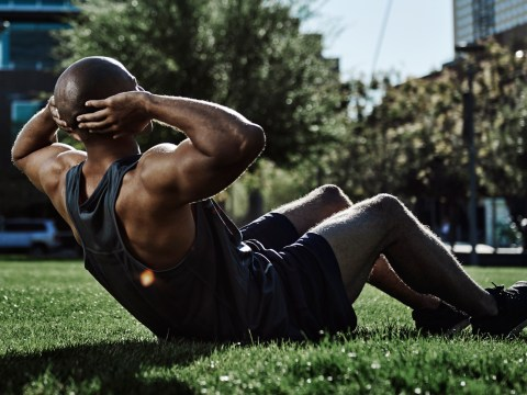 This killer core workout doesn't involve any crunches