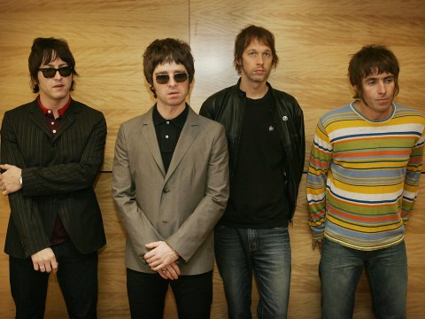 When did Oasis split up and when did they release Definitely Maybe?