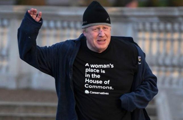 Boris Johnson women cabinet office t shirt