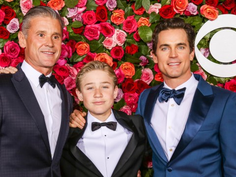 Matt Bomer reveals 'sweet moment' his son came out as straight