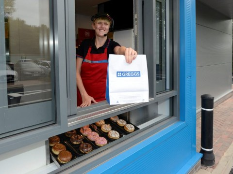 Greggs opens a new drive-thru in Newcastle