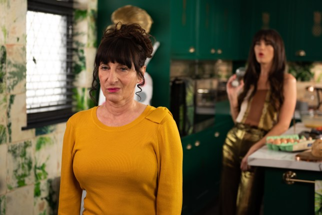 Breda takes on Mercedes in Hollyoaks