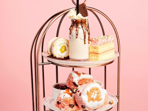 A frozen afternoon tea experience has arrived