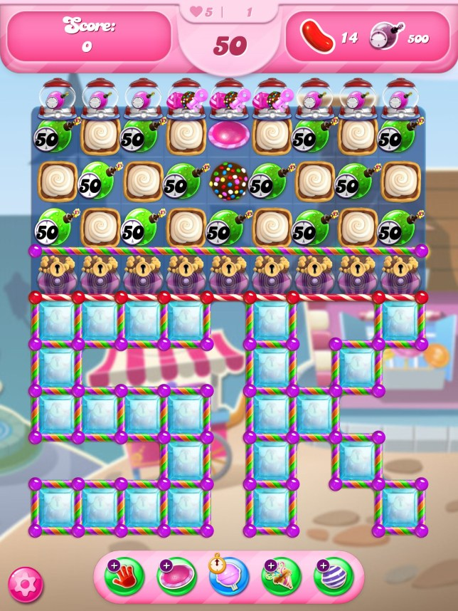 Candy Crush Saga - level 5,000 has been reached