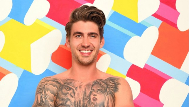 Chris Taylor in Love Island 2019