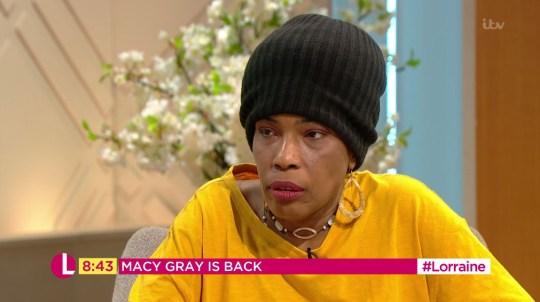 Macy Gray on Lorraine