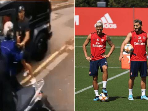 Sead Kolasinac speaks out on fighting off carjacker to protect Mesut Ozil