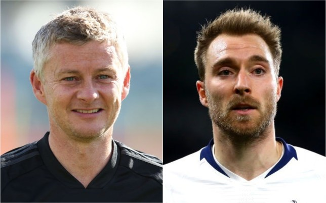 Manchester United manager Ole Gunnar Solskjaer does not favour a move for Tottenham's Christian Eriksen
