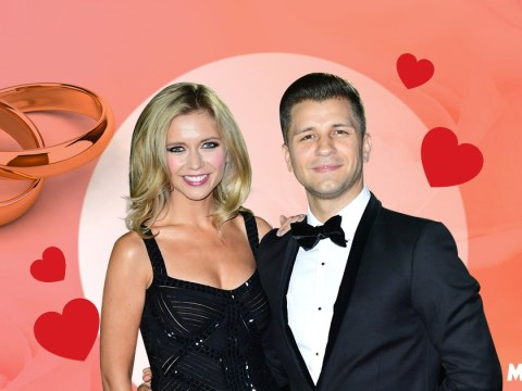 Rachel Riley and Pasha Kovalev's relationship timeline as they marry in Las Vegas