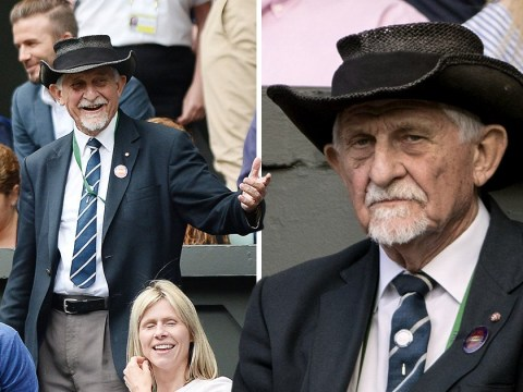 Who is the man in the hat at Wimbledon and what does he do?