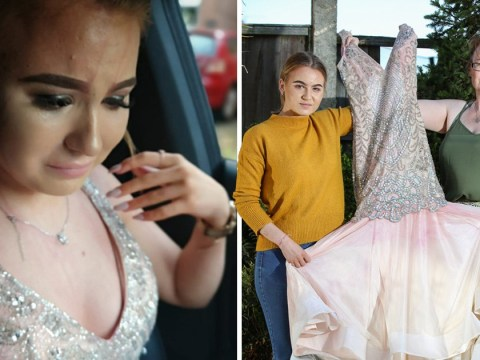 Girl speaks out about leaving prom after 'friend' poured juice on her dress