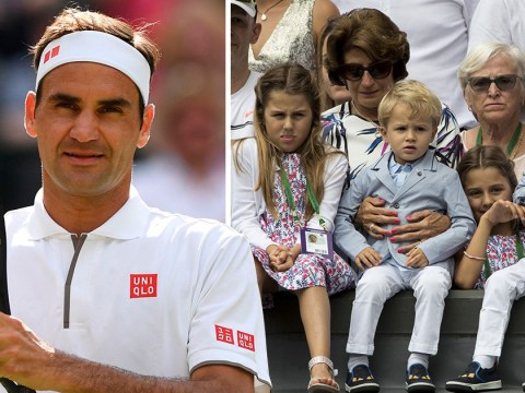 Roger Federer admits he used to get his two sets of twins mixed up and we don't blame him