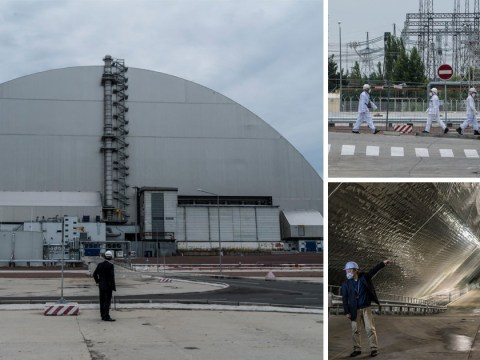 Inside new £1,300,000,000 structure built over destroyed Chernobyl nuclear reactor