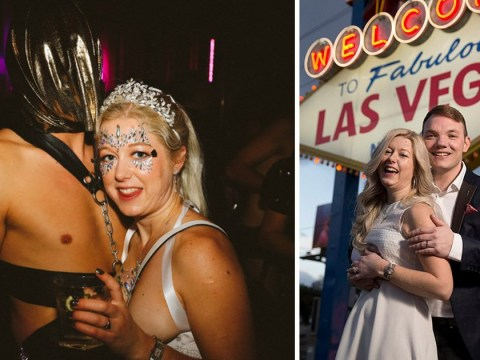Woman divorces Bumble date she married in Las Vegas 'so she can keep going to fetish parties'