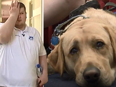 Church bars blind man from service after telling him his guide dog isn't allowed