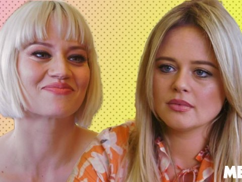 Pussycat Dolls' Kimberly Wyatt reveals to Emily Atack she was told to look like 'anorexic alien' by music bosses