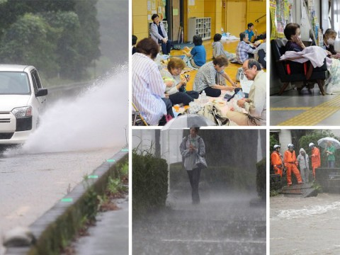 More than 1,000,000 people evacuated in Japan amid landslide and flood warnings