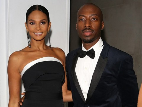 Alesha Dixon says her current man is the only partner to have seen her feet as she discusses body hang ups