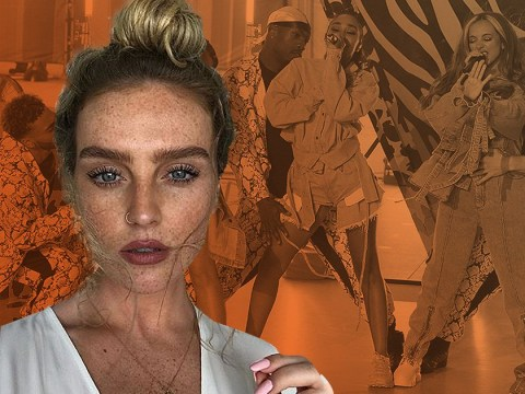 Perrie Edwards gets Little Mix to pick her perfume because she can't smell