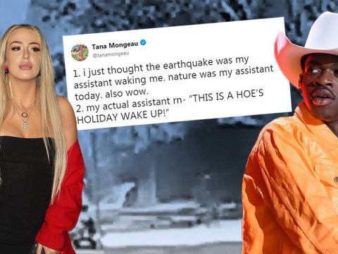 Tana Mongeau and Lil Nas X among celebrities affected by Los Angeles earthquake