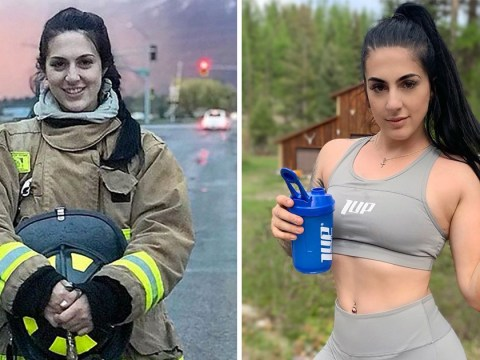 Female firefighter told she was 'too weak' to join the force proves everyone wrong