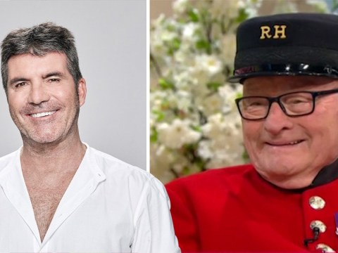 Colin Thackery says Simon Cowell is a 'nice chap to know' as he becomes oldest person to sign a record deal