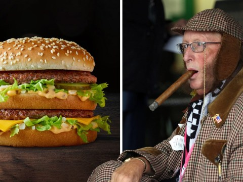 RIP Big Mac: Baffled Twitter users confuse tributes to John McCririck with Mcdonald's burger