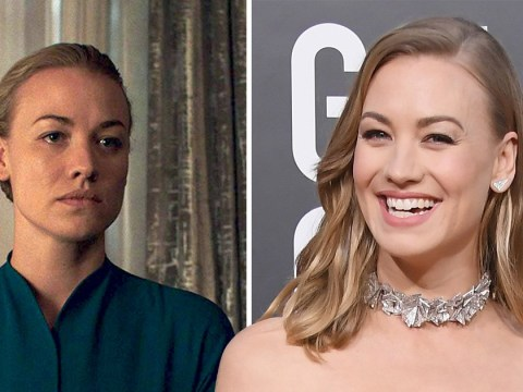 Yvonne Strahovski admits returning to The Handmaid's Tale after giving birth was 'most challenging moment ever'