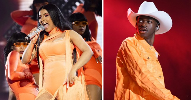 Cardi B brought out Lil Nas X at Wireless