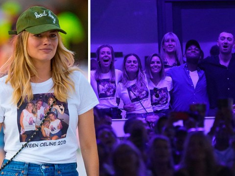 Margot Robbie rocking homemade Kween Celine Dion top to her show is a big mood