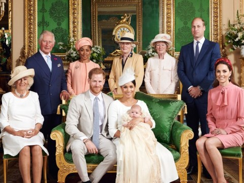 Harry and Meghan share first pictures of Archie's secret christening
