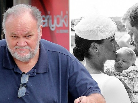 Meghan Markle's estranged dad Thomas pleads for picture of baby Archie