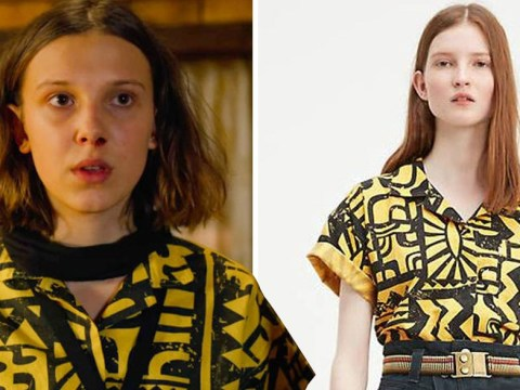 Where can you buy Eleven's yellow top from Stranger Things season 3?