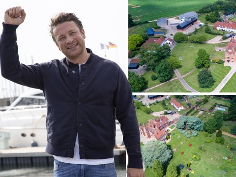 Jamie Oliver moves into £6m mansion once used for Towie filming after 1,000 employees are made redundant