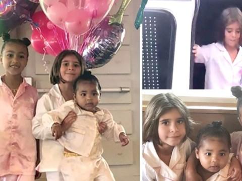 Kourtney Kardashian's daughter Penelope enjoys girl-only pancake party for her birthday