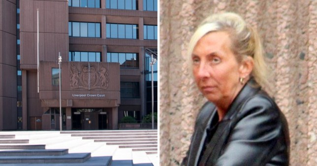 Tracy Burrows is accused of failing to check on her patient Julie Cleworth