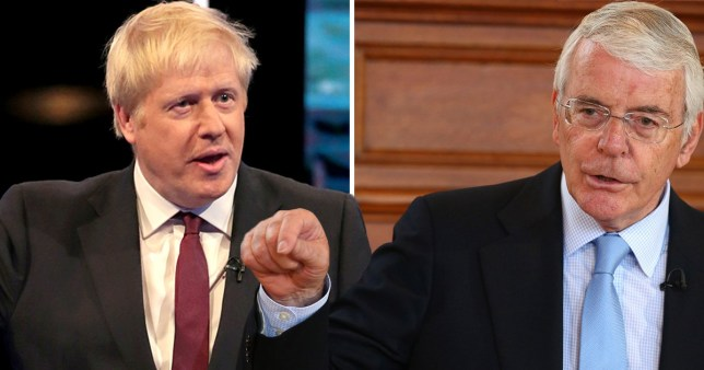 John Major has threatened court action if Boris Johnson becomes PM and suspends parliament