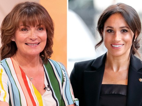 Lorraine Kelly defends Meghan Markle as Piers Morgan tells her to 'go back to America'