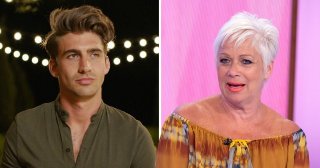 Denise Walch has priceless reaction to Chris Taylor's claim to fame on Love Island