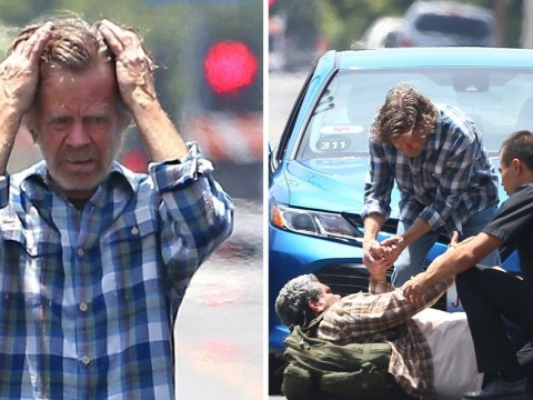 Shameless season 10 filming kicks off as William H Macy is spotted on set as Frank Gallagher