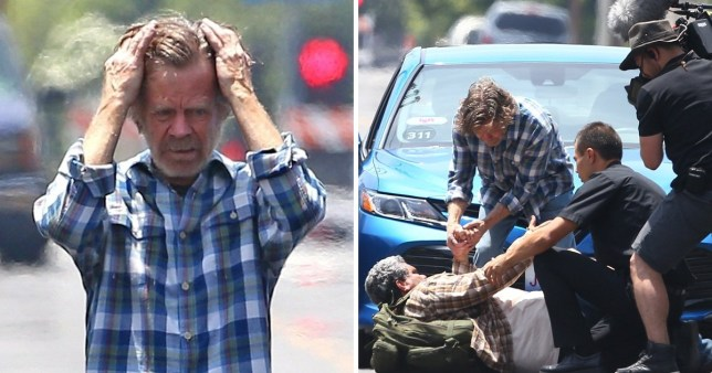 William H Macy is back as Frank Gallagher as he is spotted on set for Shameless season 8