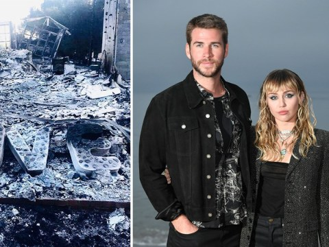 Miley Cyrus and Liam Hemsworth are rebuilding their Malibu home after it was destroyed in California wildfires