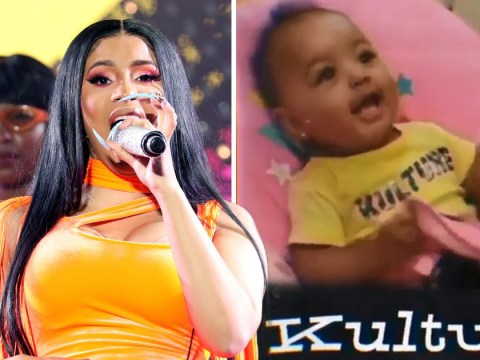 Cardi B teases snippet from new track to celebrate her daughter Kulture's first birthday