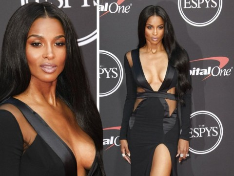 Ciara serves drama for days as she supports husband Russell Wilson at the ESPYs
