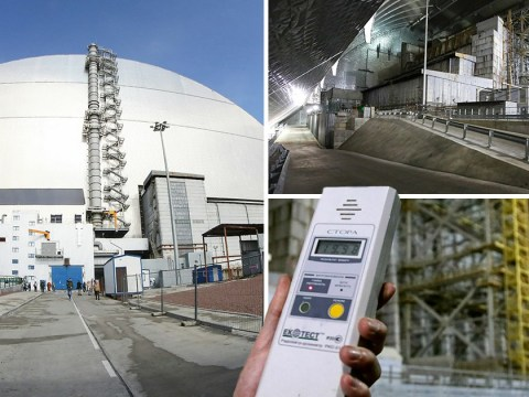 New £2 billion dome built to contain toxic Chernobyl debris unveiled