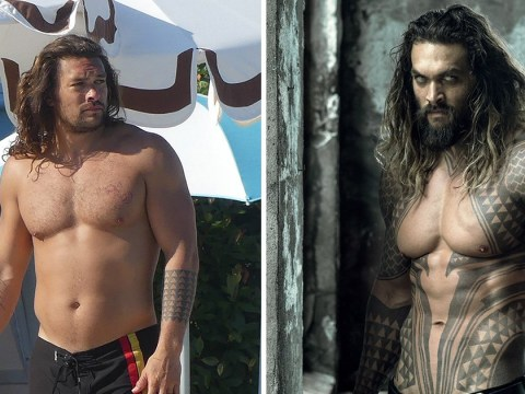 Jason Momoa is being body shamed and apparently now has a 'dad bod' which is not on